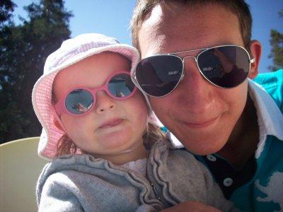Promenade avec Arnaud et Eline