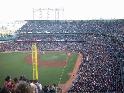 Match de baseball (tres americain!!! ...comme dans les films ;-))
