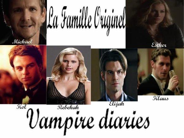 Famille Originel-Vampire diaries