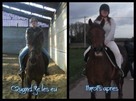 Voici mon cheval Zora