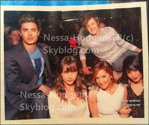 ght]. Magazine Scans les Old School Musical à l'avant première de SFA..