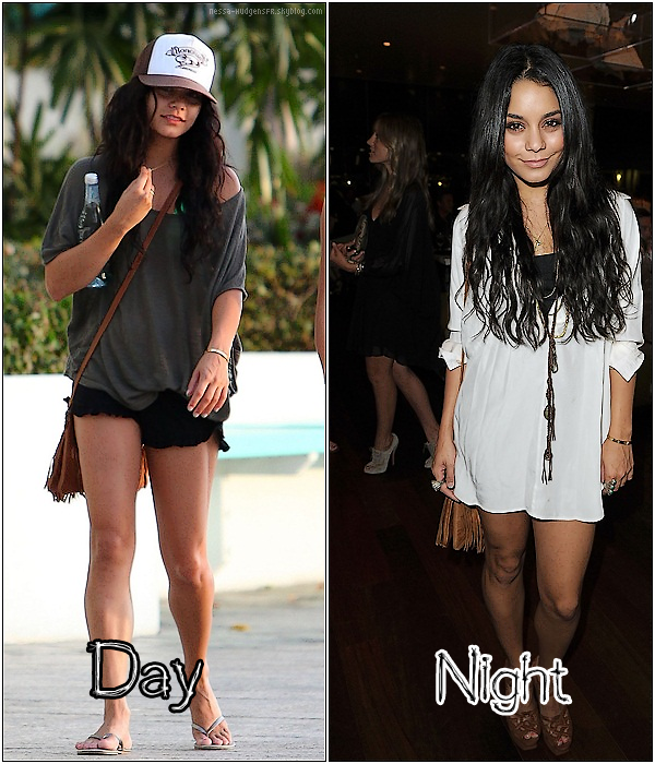 . VANESSA HUDGENS  Plutôt Day or plutôt Night ?  .