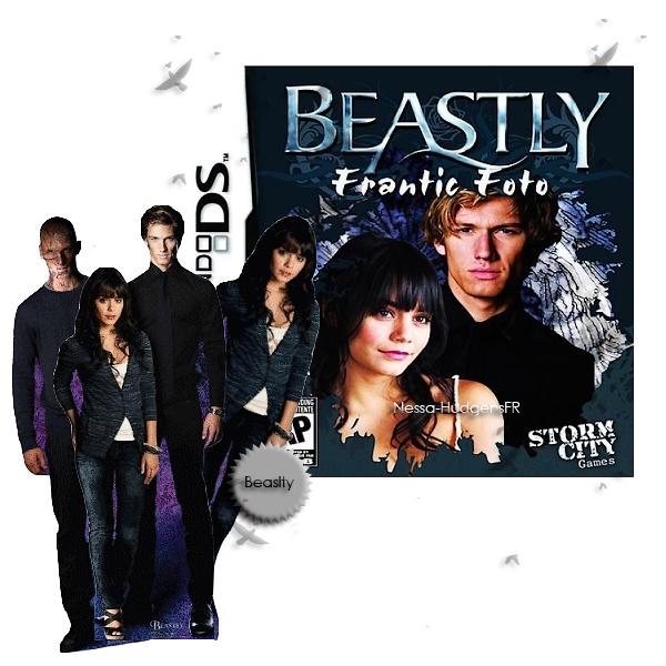 .  Et oui, vous ne rêver pas le jeu Beastly est de sortie ... + les pancartes officielle des acteurs. Jolie, Vos avis ?