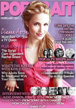 . Vote pour Vanessa pour qu'elle soit en couverture du magasine PORTRAIT du moi de mars . VOTE ICI ! .