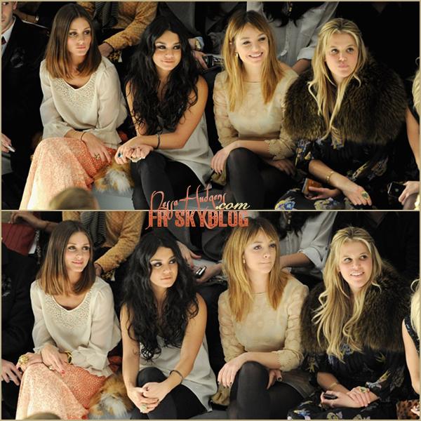 .  15 Fev. 2011 ~ Vanessa toujours au Fashion Week de New york. Cette fois pour la collection automne de TIBI 2011. + Lors de son arrivée au défilé.GOOD TOP ! J'aime beaucoup & vous ? .