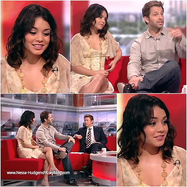 . 31.03.11 _ Vanessa continue sa promo pour Sucker Punch, elle à été vu se rendant à la radio BBC de Londres. _Vanessa Hudgens interviewé par la BBC radio de Londres, Vidéo ici & ici.___________ .