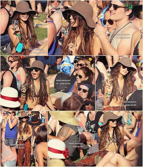 . Vanessa & ses amies au Festival Coachella Valley Music And Arts à Indio, CA. ___ PART 2. .