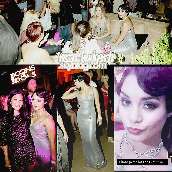 Le 28/08/2011 : Vanessa à l'évènement In Touch Weekly's Icons & Idols  Celebration.  Vanessa Hudgens et son flop lors de la soirée In Touch Weekly's Icons & Idols Celebration succèdent les VMA 2011.