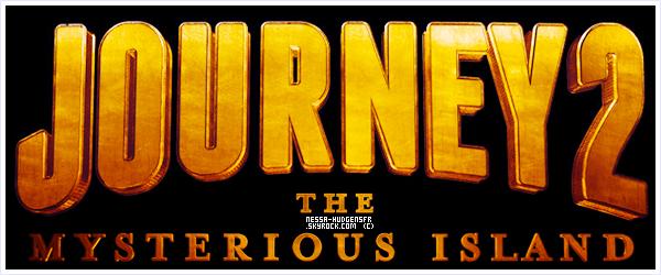 Découvre le logo de Journey 2 plus quelques clichés tirés de la Bande Annonce.