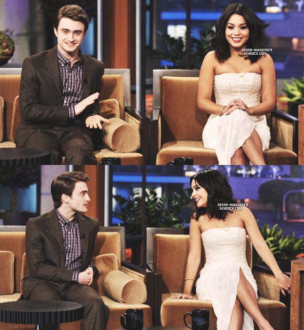 1 Février 2012 -  Comme prévu, Vanessa était au 'Tonight show with Jay Leno'. J'adore ! Vos Avis?
