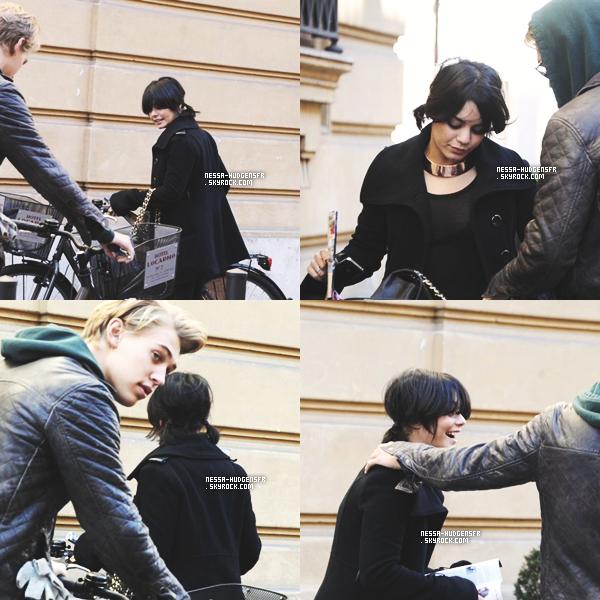 15,16,18.02.12 : Vanessa Hudgens a été vue  dans la capital Française avec Butf*cker. (pas de date précise)