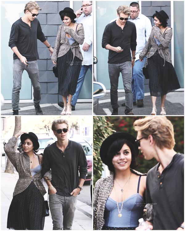 25.02.12 : Vanessa Hudgens & son petit copain Austin, ont été vues se promenant dans Santa Monica.