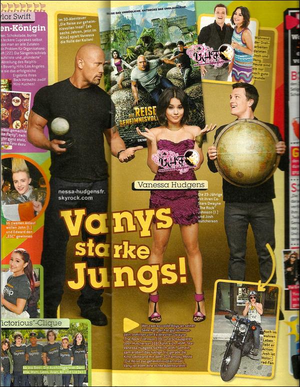 Scans de Vanessa pour le magazine BRAVO Allemand n°11