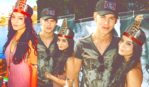 Vaustin au Festival musical Coachella à Indio, au Guess Hotel & Mirror Party (Day 2). 15.04.12