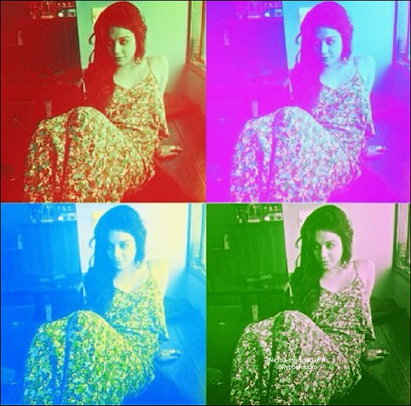 Nessa a posté cette photo sur son site officiel.
