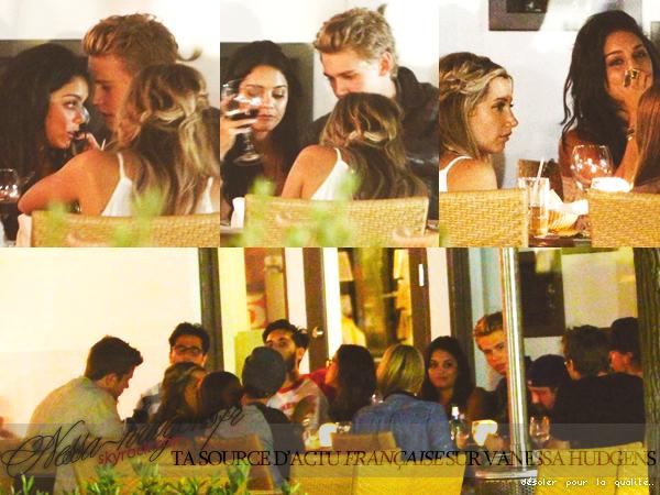 2 Juillet 2012 - Vanessa vue avec Gina, sa maman pour aller déjeuner avant d'aller au birthday de sa BFF.