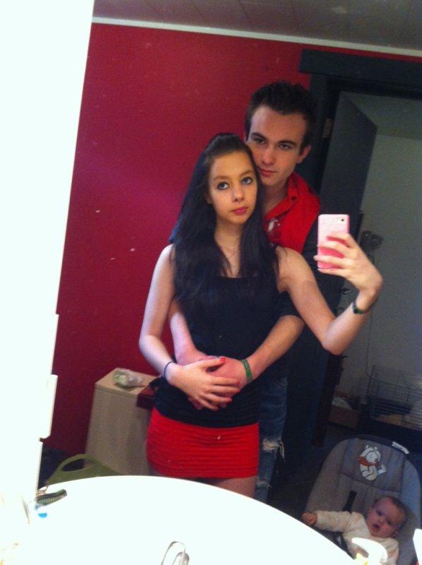 Mon chérie et moi près pour sortir