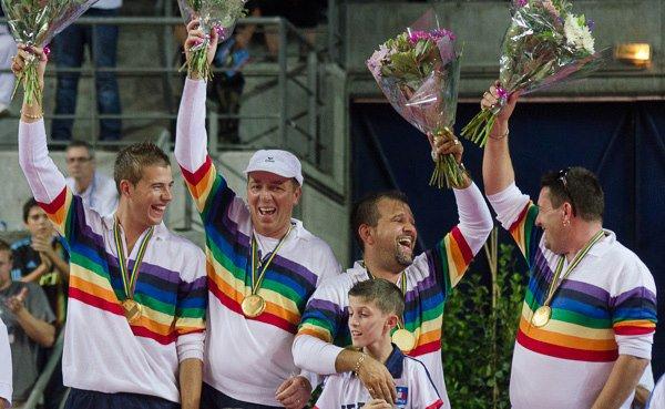 La france vainqueur des championnat du Monde de petanque en Octobre 2012 !