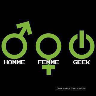 homme , femme , geek