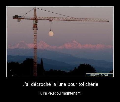 J'ai decrocher la lune !!!!