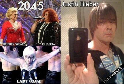 Justin bieber en 2045