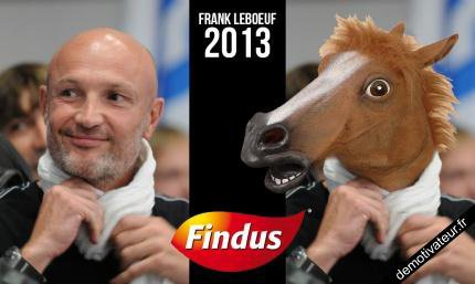 Franck leboeuf devient desormé , Franck lecheval