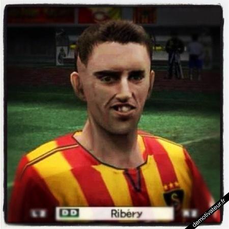 Ribery dans pes05 ! LOOOOL