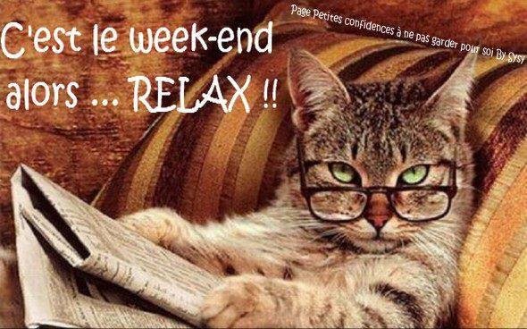 Bon week end a tous !