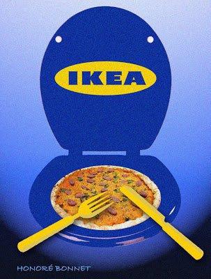 Matiere fecale dans les tartes au chocolat IKEA
