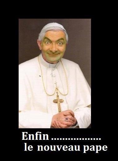 le nouveau pape xD