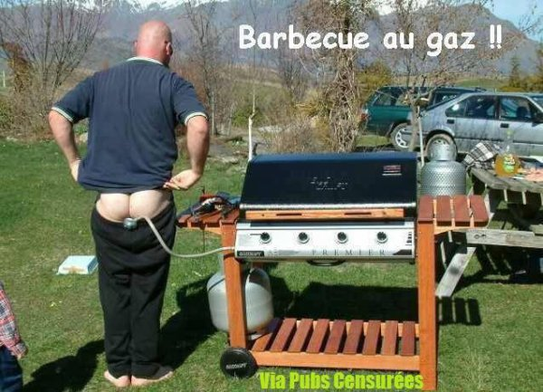 barbecue au gaz