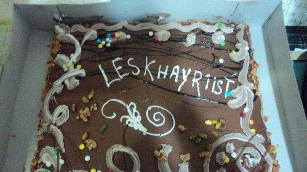 le gâteau mmmm ^^