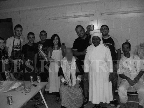 les action passé :Ramadan 2012  maison de retraite _ Max marchand