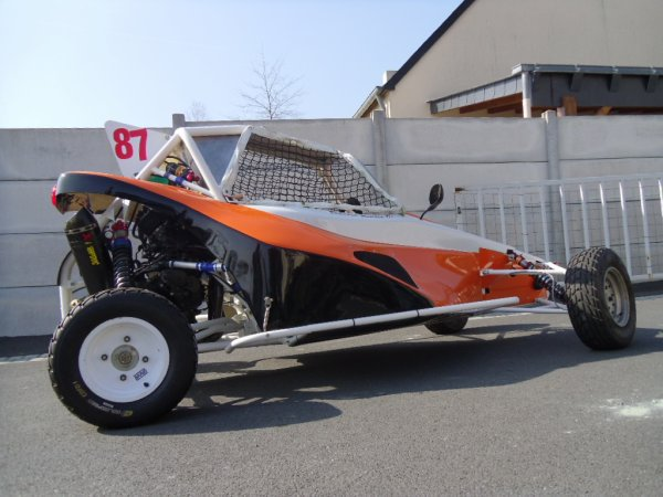 Romain Blandin et son nouveau chassis Will'oz!!!