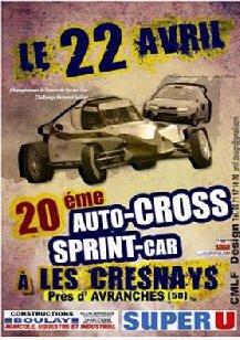2ème Manche du Championnat de L'Ouest Autocross et Sprint-Car...