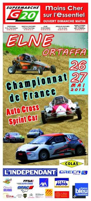 4ème Manche Championnat de France Autocross et Sprint-Car 2012...