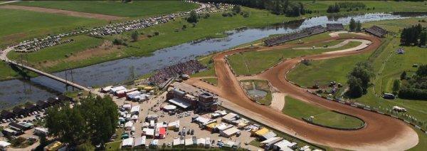 2èmé Manche du Championnat d'Europe Autocross 2012 Bauska en Lettonie...
