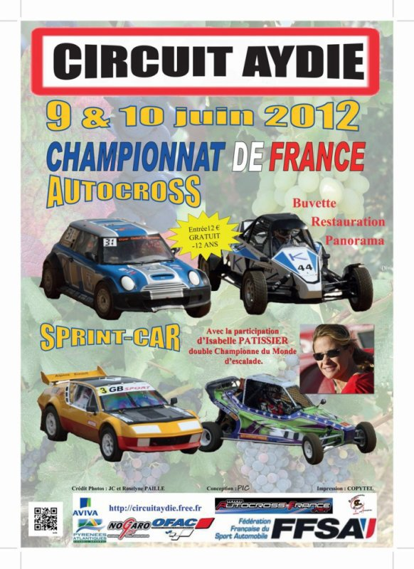 5ème Manche Du Championnat De France Autocross Et Sprint-Car 2012...