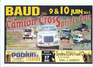 5ème Manche Du Championnat De L'Ouest Sprint-Car 2012...