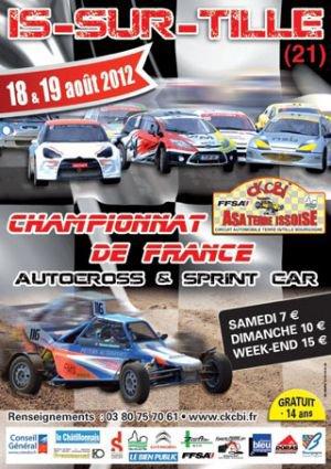 Prochaine Epreuve Du Championnat De France Autocross Et Sprint-Car 2012...