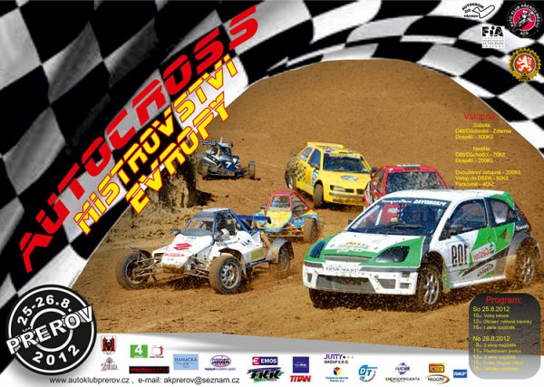 Prochaine Epreuve du Championnat Europe Autocross 2012...