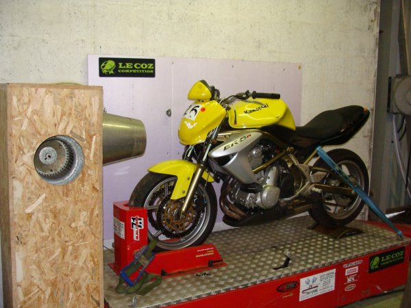 Nouveau!!! Le Banc Moto chez Le Coz Compétition!!!