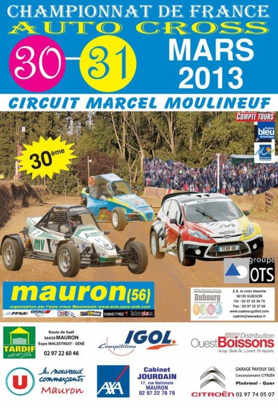 1er Manche Du Championnat De France Autocross Et Sprint-Car...