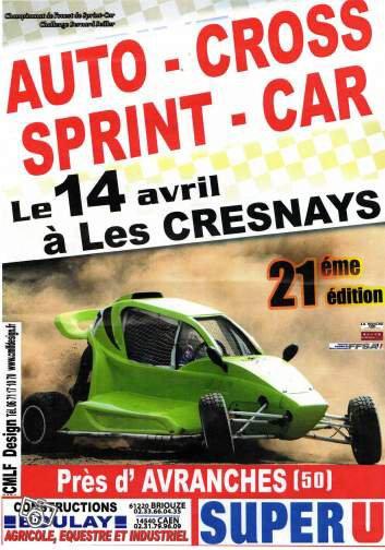 Championnat de l'Ouest Autocross et Sprint-Car!!!