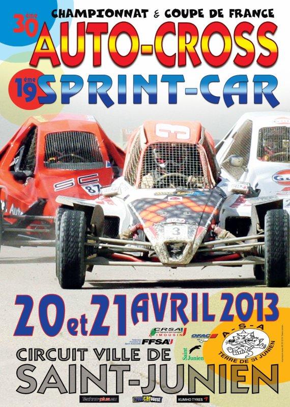 2ème Manche Du Championnat De France Autocross Et Sprint-Car...