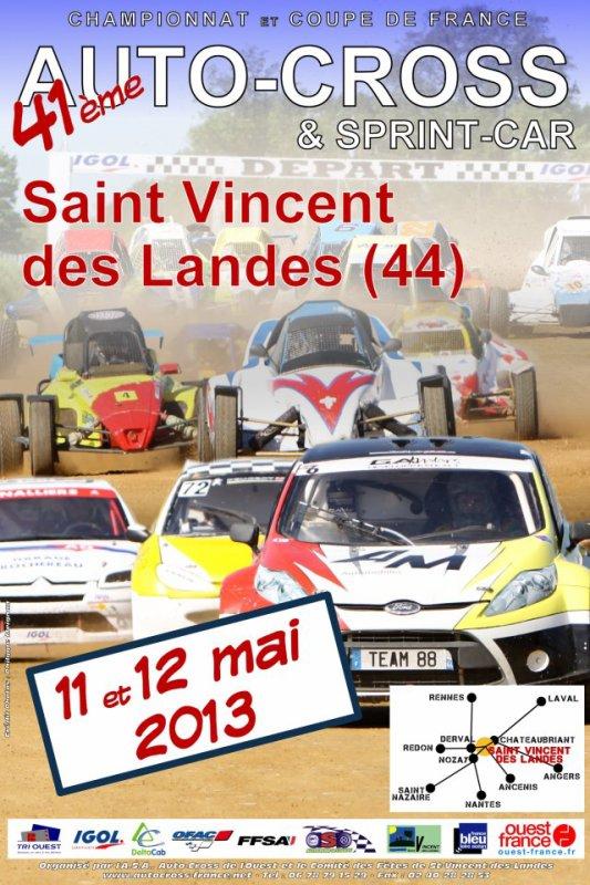 3ème Manche Du Championnat De France Autocross Et Sprint-Car...