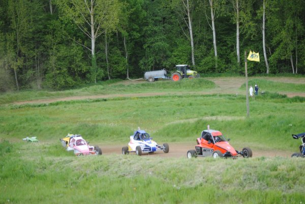 Anthony Liaigre, Kart-Cross Choue 2013, 3ème de la journée!!!