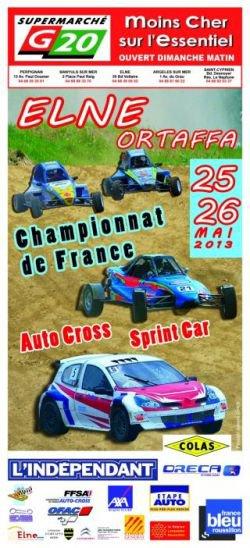 4ème Manche Du Championnat De France Autocross Et Sprint-Car 2013