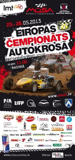 1er Manche Du Championnat Europe Autocross 2013...