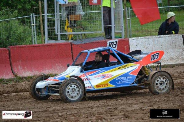 Résumé de l'épreuve de Bauska(Championnat Europe Autocross) édité par le team ATX